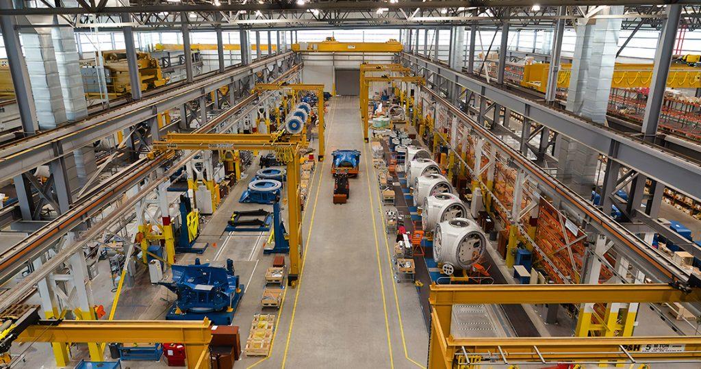 Modernização de empresa industrial
