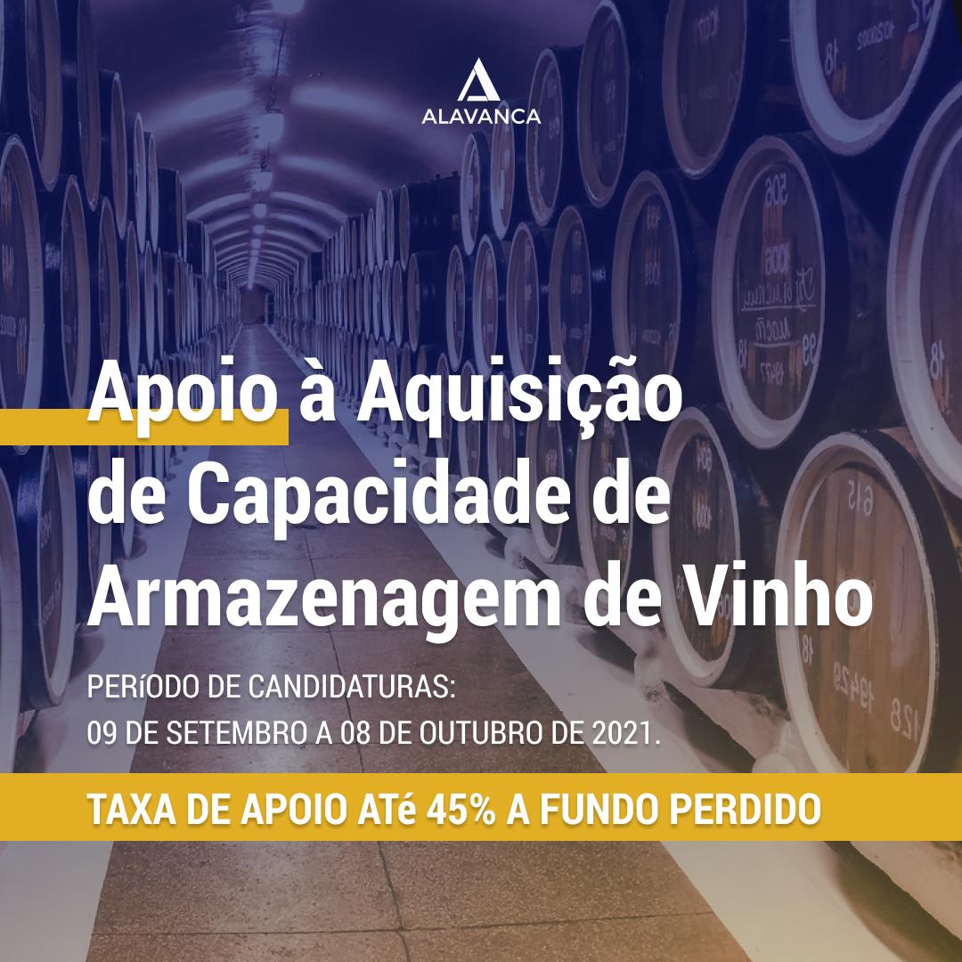 Apoio à Aquisição de Capacidade de Armazenagem de Vinho
